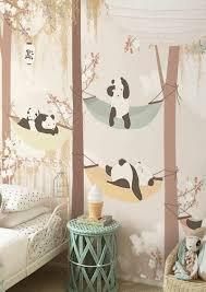 Panda Nursery Decor by Colored Wallpapers For Children U0027s Room With Fun Motifs U2013 Fresh