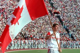 Canada Flag Bearer Photos Canadian Flag Bearers At Last 10 Summer Olympics Toronto