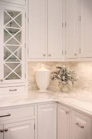 white backsplash for kitchen best 25 calcutta marble backsplash ideas on
