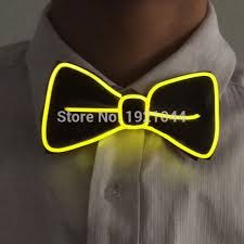 new years bow tie light up ties led bow tie costume accessories bow tie for new year