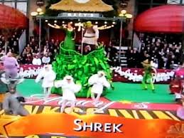 sherk the musical in the macy s thanksgiving day parade 2009
