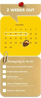 earlybird thanksgiving checklist pam