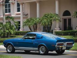 first mustang ever made rare ford mustangs the 1968 shelby gt500 kr u2013 americanmuscle com blog