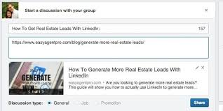 how to use linkedin to generate real estate leads quora