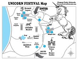 Littleton Colorado Map by Unicorn Festival Home