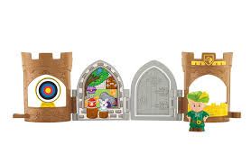 amazon black friday sales for fisher price toys amazon com fisher price little people robin hood pop open castle