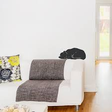 Wall Stickers Cats Sleeping Cat Wall Decal