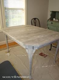 weathered rustic table scout u0026 nimble