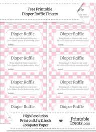 raffle ticket printing paper free diaper raffle tickets printable diaper raffle raffle