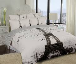 Twin Comforters For Adults Elegant Paris Eiffel Tower Bedding Twin Full Queen Duvet Cover Or