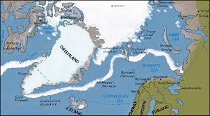 Ocean Maps Arctic Ocean Map U2022 Mappery