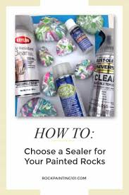 should i put a top coat on painted cabinets what is the best sealer for painted rocks rock painting 101
