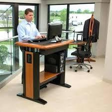 Stand Up Corner Desk Corner Stand Up Desk Bethebridge Co