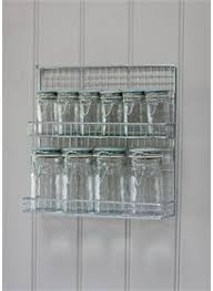 Wall Mount Spice Rack With Jars This Wall Mounted Spice Rack Optimises Your Kitchen Space