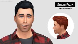sims 4 hairs lumia lover sims short faux hairstyle new mesh