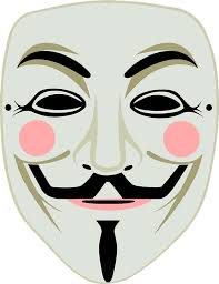 Face Mask Meme - fawkes mask guy 盞 free vector graphic on pixabay