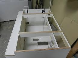 Refacing Bathroom Vanity How To Reface A Bathroom Vanity Cabinet Dowelmax