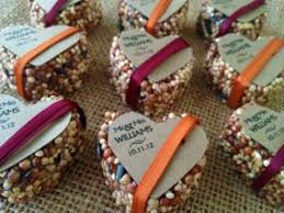cool wedding favors creative wedding favor ideas l squared affairs