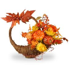 harvest cornucopia national tree co harvest autumn cornucopia basket reviews wayfair