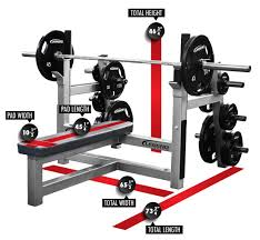 Flat Bench Barbell Press Olympic Flat Bench With Plate Storage Legend Fitness