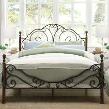 Rod Iron Headboard Uncategorized White Wrought Iron Headboard In Finest Bedroom