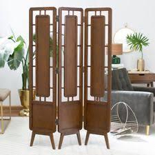 Vertical Tension Rod Room Divider Mid Century Room Divider Ebay