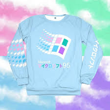 candy 95 sweatshirt 1 of 50 retro clothing vhs tapes and polaroid