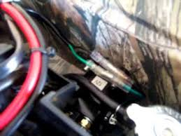 winch install 2014 yamaha 550 grizzly custom wiring youtube