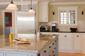 Kitchen Cabinet Cost Per Foot Granite Countertop Kitchen Dustbin Cabinet Center Island Range