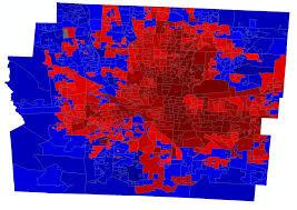 Presidential Election Map 2012 by Realisticidealist U0027s 2012 Precinct Map Thread