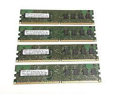 Memory 4gb Pc 4gb 4x1gb samsung m378t2863ehs pc2 6400u ddr2 800 pc memory ram