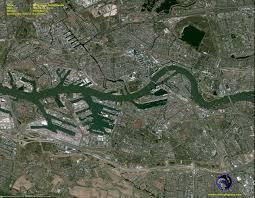 Satellite View Maps Pleiades Satellite Image Of Rotterdam Netherlands Satellite