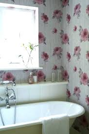 wallpaper ideas for bathroom u2013 homefield