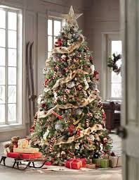 tree with decorations included lights card