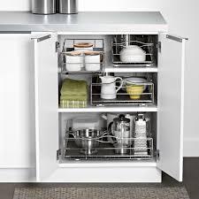 9 inch cabinet organizer simplehuman simplehuman 9 inch pull out cabinet organizer