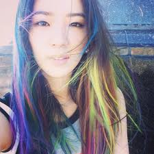 asian hair color trends for 2015 colouring your hair try the korean unicorn hair trend her world