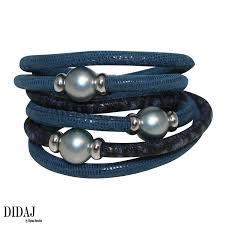 blue leather bracelet images Jewelry italian leather bracelet endless wrap bracelet double png