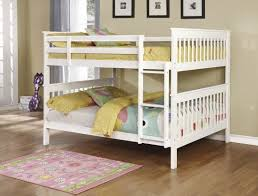 Black Wooden Bunk Beds Wood Bunk Beds Available In White Or Black From The Kid