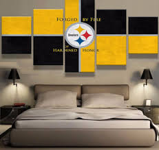 pittsburgh steelers home decor pittsburgh steelers poster canvas simple hot sel pieces hd print pittsburgh steelers cuadros decoration paintings on canvas wall art for home decorations wall decor with pittsburgh steelers