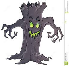 spooky clipart spooky tree theme image 1 stock photos image 33383243
