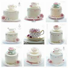 vintage teacup class cakes by sian