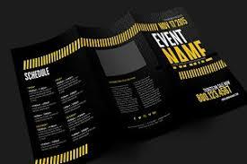 trifold brochure mockup product mockups creative market