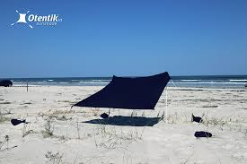 Baby Beach Tent Walmart Amazon Com Otentik Beach Sunshade With Sandbag Anchors The