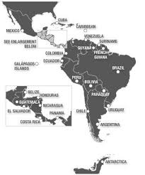 map of america with cities bolivia geography major cities of bolivia map of bolivia
