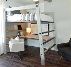 lit mezzanine avec bureau int r lit mezzanine scandinave lit en hauteur avec bureau int 233 gr 233