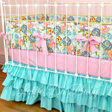 lily belle turquoise baby bedding lottie da baby baby bedding