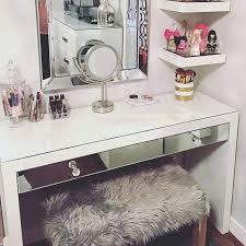 makeup vanity table with lighted mirror ikea ikea makeup table paulineganty com