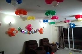balloon decoration for birthday at home easy balloon decoration for birthday party simple ideas at home bir