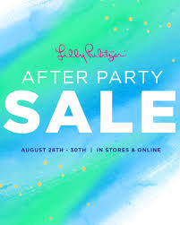 when is the august 2017 lilly pulitzer after party sale