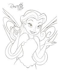 disney u0027s fairies coloring pages